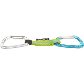 Edelrid Pure Slim Wire Quickdraw Set 12cm oasis-icemint
